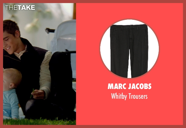Marc Jacobs black trousers from The Giver seen with Brenton Thwaites (Jonas)