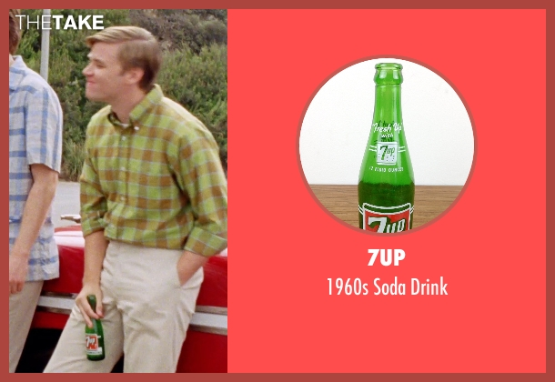 7up drink from Love & Mercy seen with Brett Davern (Carl Wilson)
