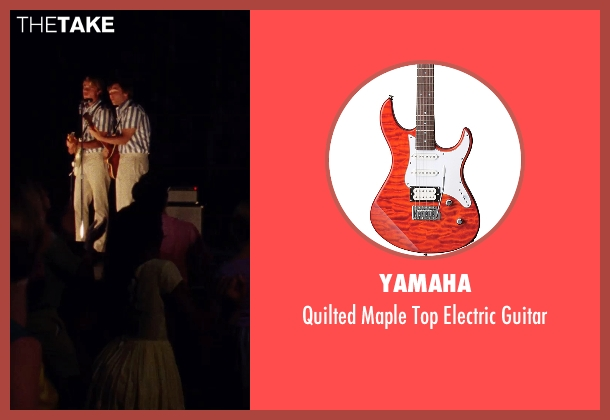 Yamaha guitar from Love & Mercy seen with Brett Davern (Carl Wilson)