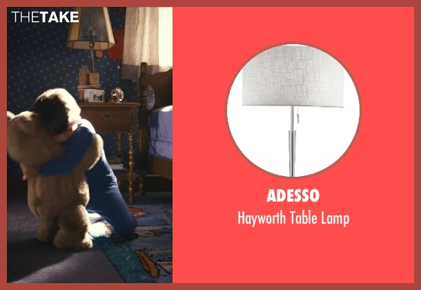 Adesso lamp from Ted seen with Bretton Manley (Young John (as Brett Manley))