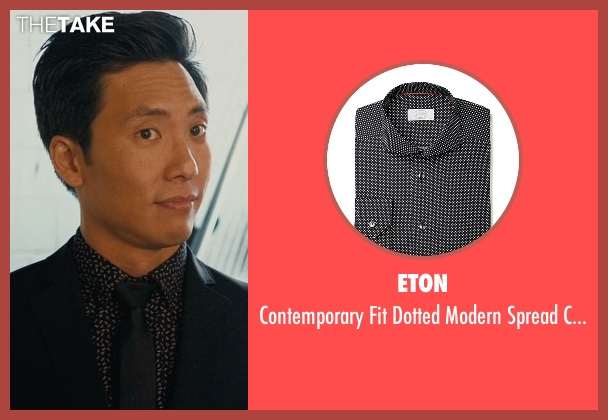 Eton black shirt from Master of None seen with Brian (Kelvin Yu)