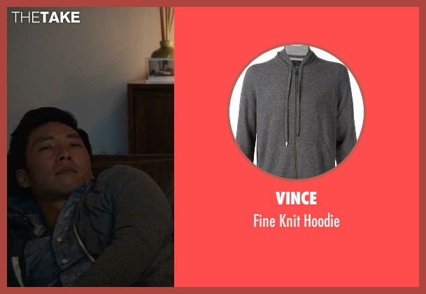 Vince gray hoodie from Master of None seen with Brian (Kelvin Yu)