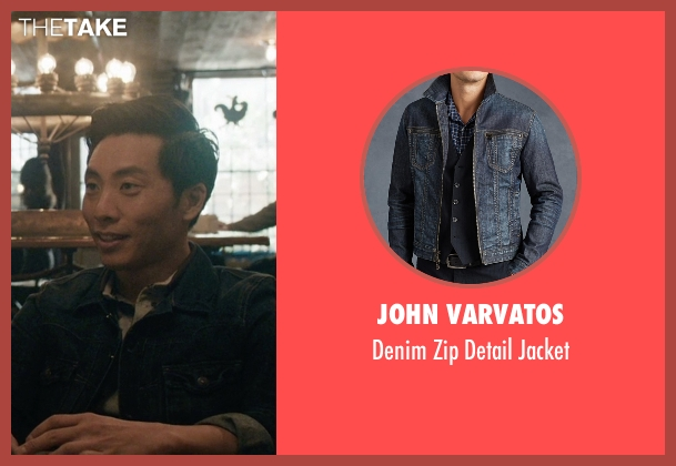 John Varvatos jacket from Master of None seen with Brian (Kelvin Yu)