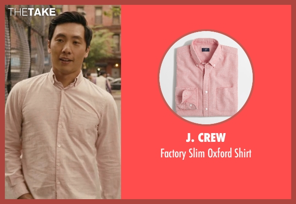 J. Crew pink shirt from Master of None seen with Brian (Kelvin Yu)