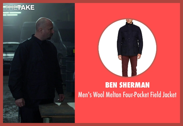 Ben Sherman blue jacket from Ride Along seen with No Actor (Serb)