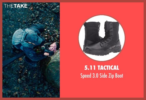 5.11 Tactical black boot from Jurassic World seen with Brian Tee (Takashi Hamada)