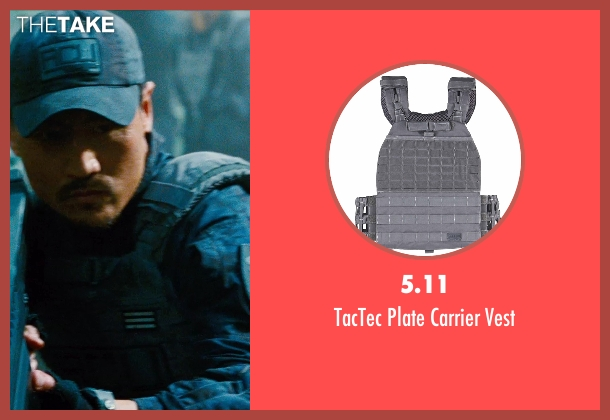 5.11 vest from Jurassic World seen with Brian Tee (Takashi Hamada)