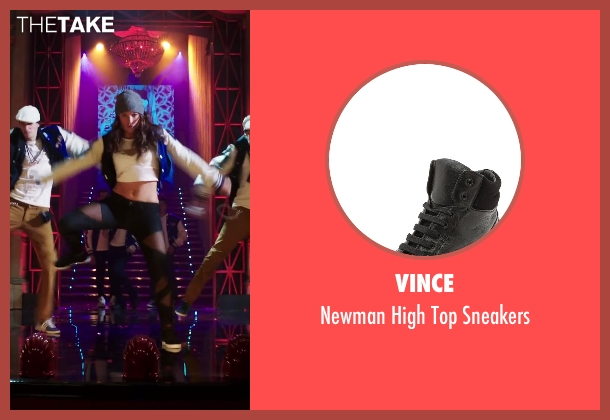 Vince black sneakers from Step Up: All In seen with Briana Evigan (Andie)