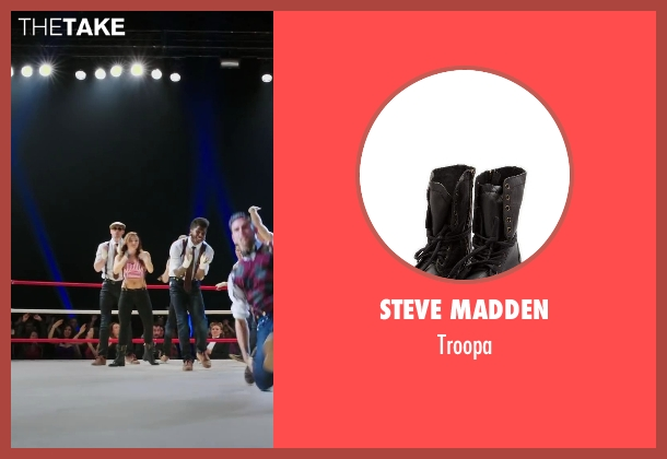Steve Madden black troopa from Step Up: All In seen with Briana Evigan (Andie)