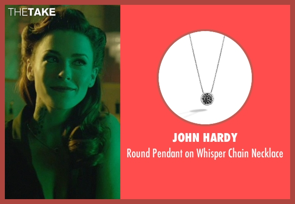 John Hardy silver necklace from John Wick seen with Bridget Regan (Addy)