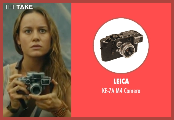 Leica camera from Kong: Skull Island seen with Brie Larson (Weaver)