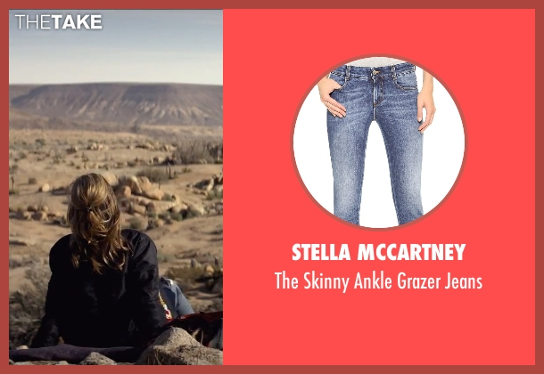 Stella McCartney blue jeans from The Gambler seen with Brie Larson (Amy Phillips)
