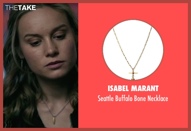Isabel Marant necklace from The Gambler seen with Brie Larson (Amy Phillips)