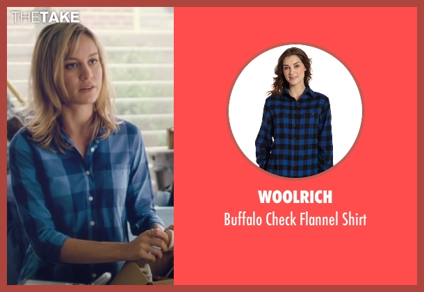 Woolrich blue shirt from Trainwreck seen with Brie Larson (Kim)