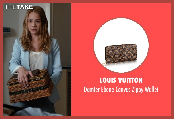 Louis Vuitton brown wallet from The Longest Ride seen with Britt Robertson (Sophia Danko)