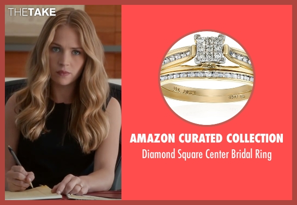 Amazon Curated Collection gold ring from The Longest Ride seen with Britt Robertson (Sophia Danko)