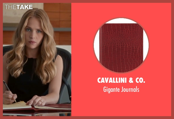 Cavallini & Co. journals from The Longest Ride seen with Britt Robertson (Sophia Danko)