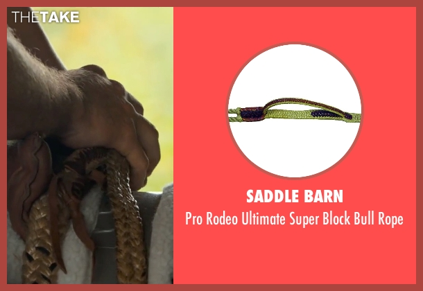 Saddle Barn rope from The Longest Ride seen with Britt Robertson (Sophia Danko)