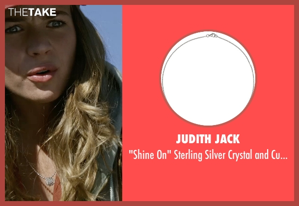 Judith Jack silver necklace from Tomorrowland seen with Britt Robertson (Casey Newton)