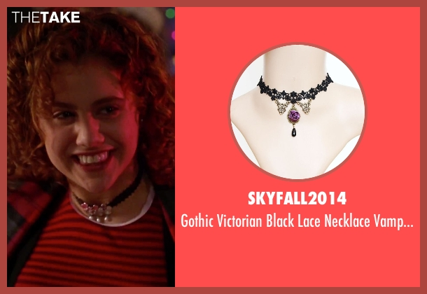 Skyfall2014 black choker from Clueless seen with Brittany Murphy (Tai)