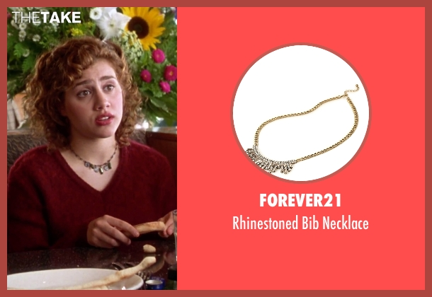 Forever21 necklace from Clueless seen with Brittany Murphy (Tai)