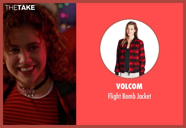 Volcom red jacket from Clueless seen with Brittany Murphy (Tai)