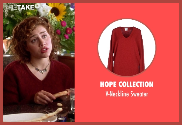 Hope Collection red sweater from Clueless seen with Brittany Murphy (Tai)