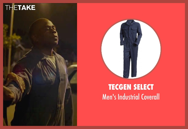 Tecgen Select blue coverall from Straight Outta Compton seen with Bruce Beatty (Hosie Jackson)
