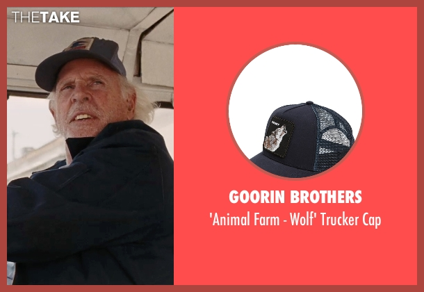 Goorin Brothers blue cap from Cut Bank seen with Bruce Dern (Georgie Wits)