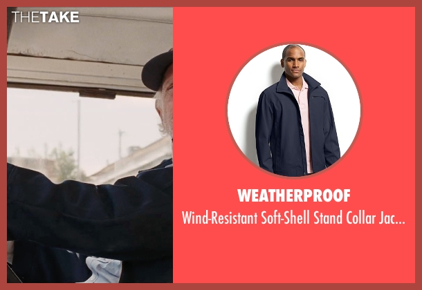 Weatherproof blue jacket from Cut Bank seen with Bruce Dern (Georgie Wits)