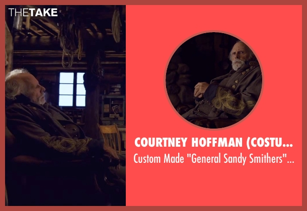 Courtney Hoffman (Costume Designer) uniform from The Hateful Eight seen with Bruce Dern (General Sandy Smithers)