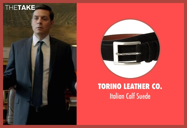 Torino Leather Co. black suede from Brick Mansions seen with Bruce Ramsay (Mayor)