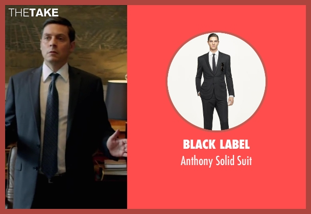Black Label black suit from Brick Mansions seen with Bruce Ramsay (Mayor)