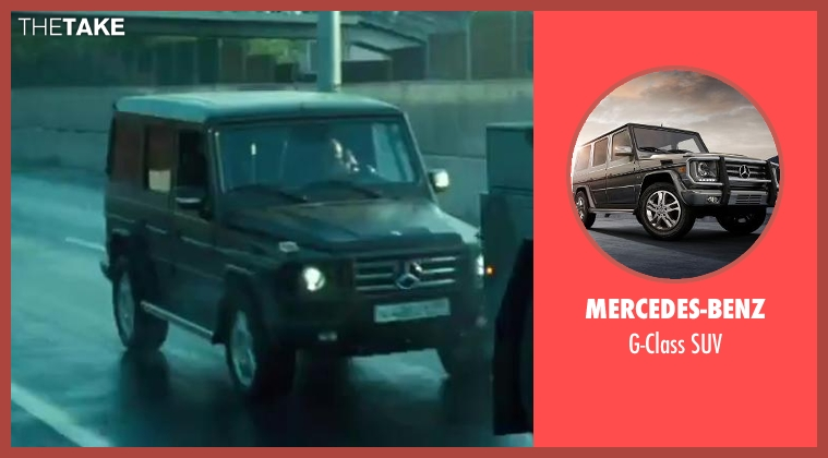 Mercedes-Benz suv from A Good Day to Die Hard seen with No Actor (John McClane)