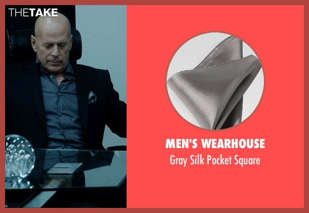 Men's Wearhouse gray square from Vice seen with Bruce Willis (Julian Michaels)