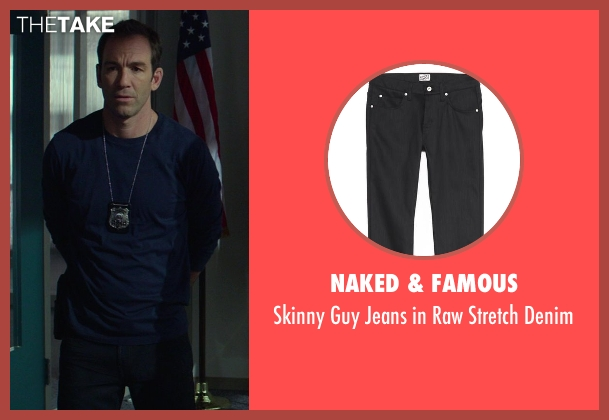 Naked & Famous black denim from Ride Along seen with No Actor (Miggs)