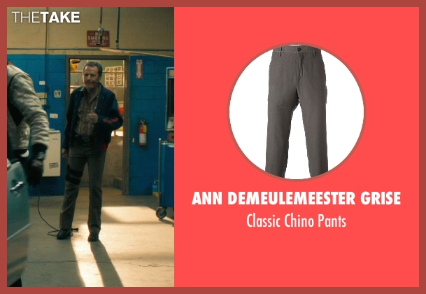 Ann Demeulemeester Grise gray pants from Drive seen with Bryan Cranston (Shannon)