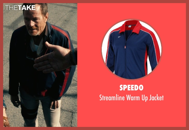 Speedo jacket from Drive seen with Bryan Cranston (Shannon)