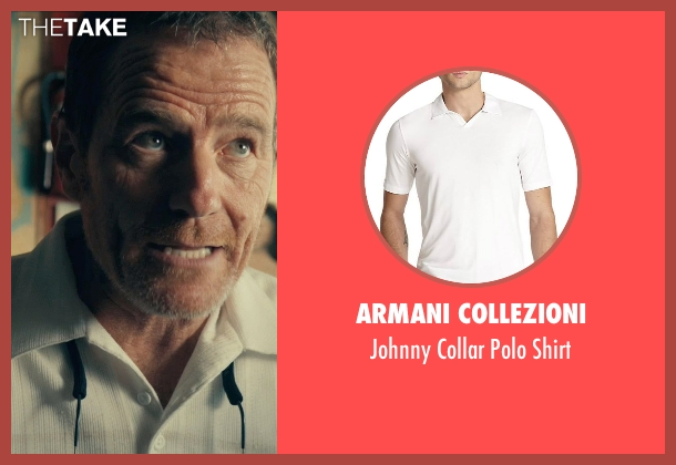 Armani Collezioni white shirt from Drive seen with Bryan Cranston (Shannon)