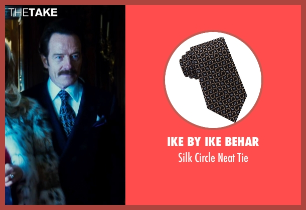 Ike By Ike Behar black tie from The Infiltrator seen with Bryan Cranston (Robert Mazur)