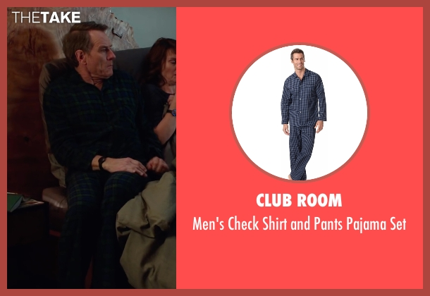 Club Room blue set from Why Him? seen with Bryan Cranston (Ned)