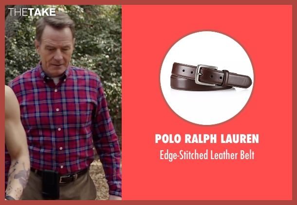 Polo Ralph Lauren brown belt from Why Him? seen with Bryan Cranston (Ned)