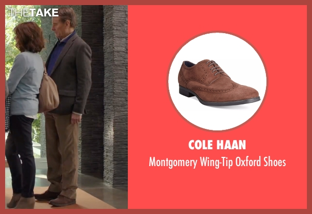Cole Haan brown shoes from Why Him? seen with Bryan Cranston (Ned)