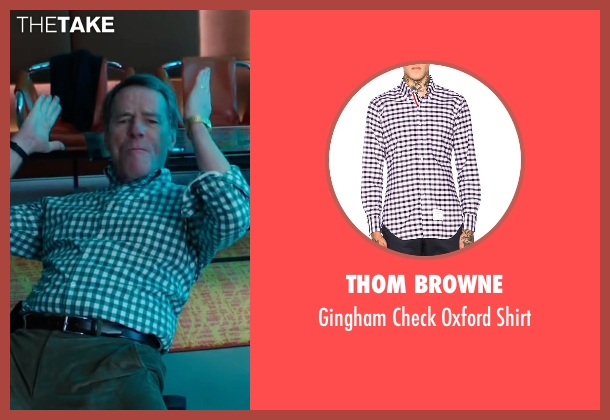 Thom Browne white shirt from Why Him? seen with Bryan Cranston (Ned)