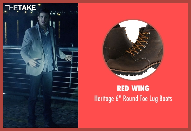 Red Wing black boots from Vice seen with Bryan Greenberg (Evan)