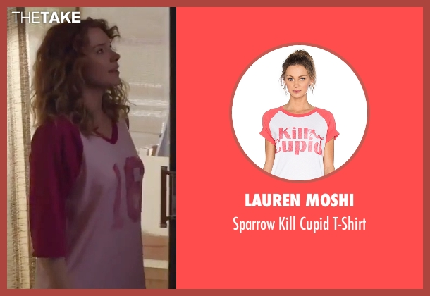 Lauren Moshi pink t-shirt from Gold seen with Bryce Dallas Howard (Kay)