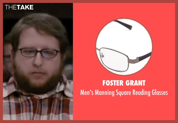 Foster Grant black glasses from The Disappearance of Eleanor Rigby seen with Bryon Krueger (NYU Student)