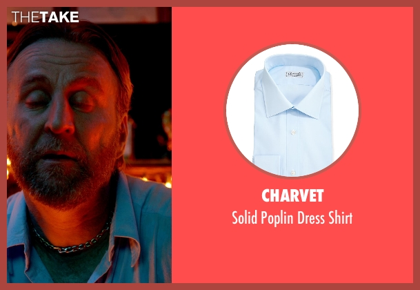 Charvet	 blue shirt from Only God Forgives seen with Byron Gibson (Byron)