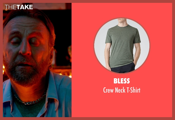 Bless green t-shirt from Only God Forgives seen with Byron Gibson (Byron)
