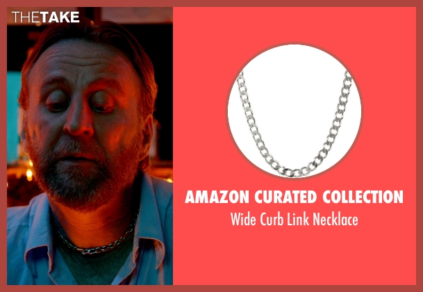 Amazon Curated Collection silver necklace from Only God Forgives seen with Byron Gibson (Byron)
